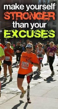 punch your excuses in the face