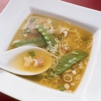 Egg Drop Soup. Make w/out cornstarch