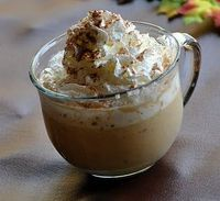 Pumpkin Hot Chocolate... I'd add some whipped cream vodka!