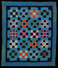 Ohio Amish Quilt from the collection of Darwin D. Bearley. mmm.... color.