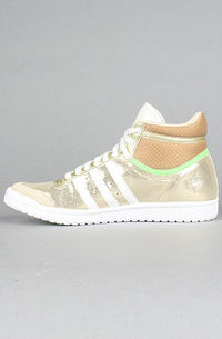 adidas top ten hi sleek Neo Gold