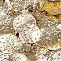 100pc BellyLady Belly Dancing Coins,With Bird Design On One Side