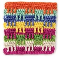 Playblocks crochet stitch