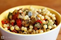 Ratatouille Couscous Salad