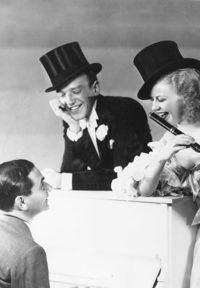 Irving Berlin, Fred Astaire and Ginger Rogers