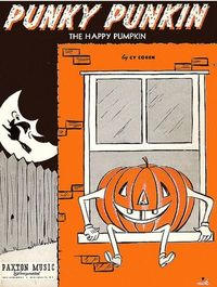 �€œPunky Pumpkin�€ sheet music.