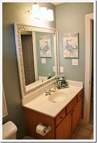 I want to do a nautical theme for the bathroom