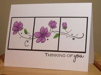 Three-Panel Thinking of You Card