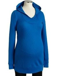 waffle knit hooded tunic. with a belt maybe.