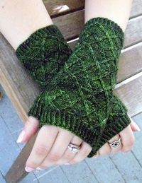 Knitting Pattern Argylers Handwarmers by The by thesexyknitter, $5.00