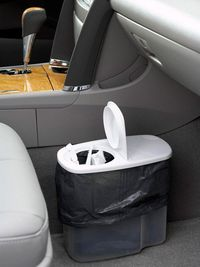 Cereal container for car trash can!