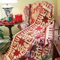 My Signature Color: Red: Scrappy Traditional Star Quilt Pattern