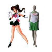 Sailor Moon Classic Kino Makoto Sailor Jupiter Cosplay Costume--CosplayDeal.com