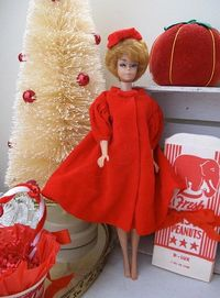 Vintage Barbie by saturdayfinds, via Flickr I had this coat. It was passed down to me from a relative.