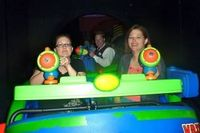 Score more points on Buzz Lightyear at Disney World
