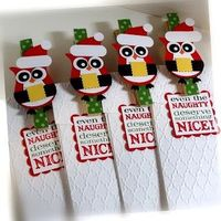 Stampin' Up! Christmas by Chat Wszelaki at Me, My Stamps and I: Santa Owl Clip