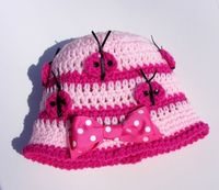 Lil Ladybug Crochet Hat Pattern No Applique by PatternsByKrissy, $3.99