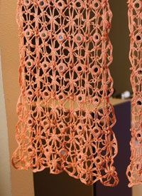Crochet Curtains Pattern: Looking Glass Curtains