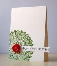 Simple Christmas card.