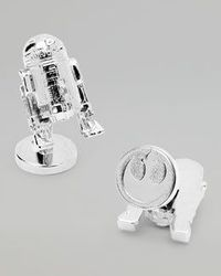 Star Wars R2D2 Cuff Links $125.00