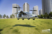 Terrafugia TF-X: Flying Car That Can Fly Vertically