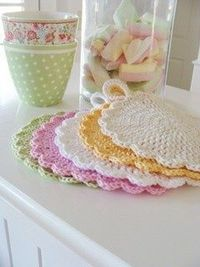 So pretty - potholder tutorial