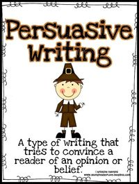 "Are you looking for something for Thanksgiving other than ""What are you thankful for?"" This persuasive pack gives a fun twist to persuasive writing during the holidays!!!!"