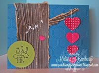 Stampin' Up! Valentine By Melissa Banbury: Carving Love