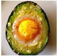 One of the healthiest and yummiest breakfast/snacks ever!! High in protein and healthy fats. SO good for you! And delicious Ingredients: Whole avocado Eggs Cayenne pepper (or any spice of your choice) Cheese (optional) Remove the stone fro...