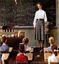 Norman Rockwell...Teacher