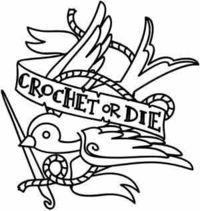 Crochet or Die | Urban Threads: Unique and Awesome Embroidery Designs