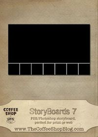 Free Storyboards and Frames - other stuff too, like ps presets