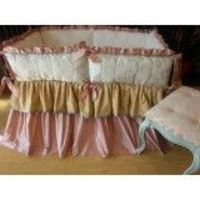 Adorable design of BeDazzled Custom Crib Bedding 124