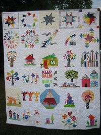 angel quilt - a collabo