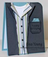 Stampin' Up! Birthday by Lisa Young at Add Ink and Stamp: A Manly Birthday Card