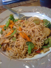 Very low cal dinner you must try! Asian peanut stir fry!