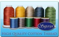 How much thread for quilting?