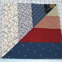 Twisted Rail Fence Quilt Blocks