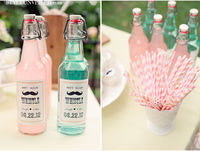 pink and mint - pastel, spring, fresh party ideas