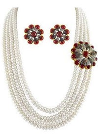 pearl necklace set by Jpearls, feel great when you wear